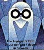Het logo wat ik gebruikte als advertentie The Arpegiator.
